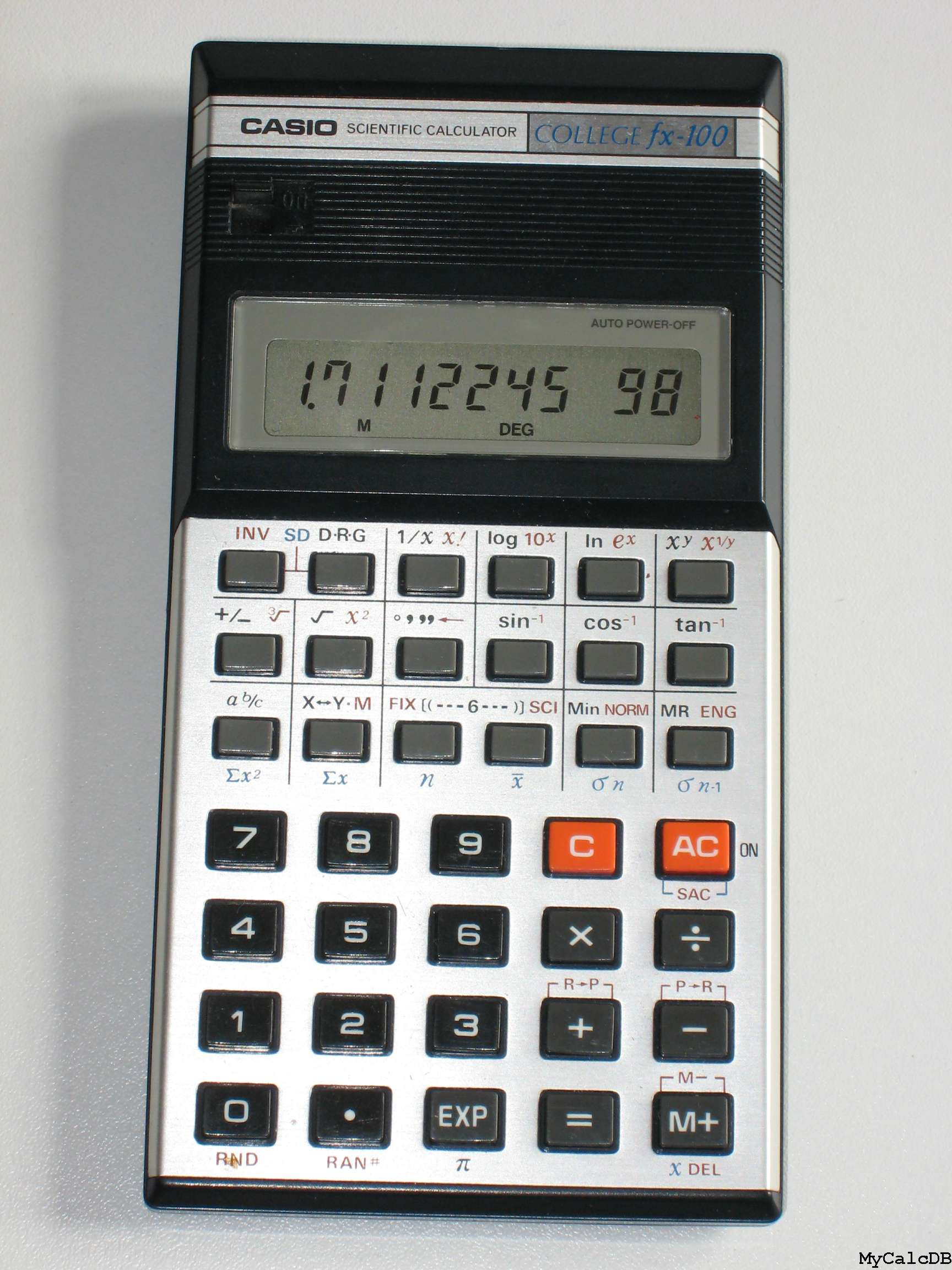 how to use percentage key on casio calculator