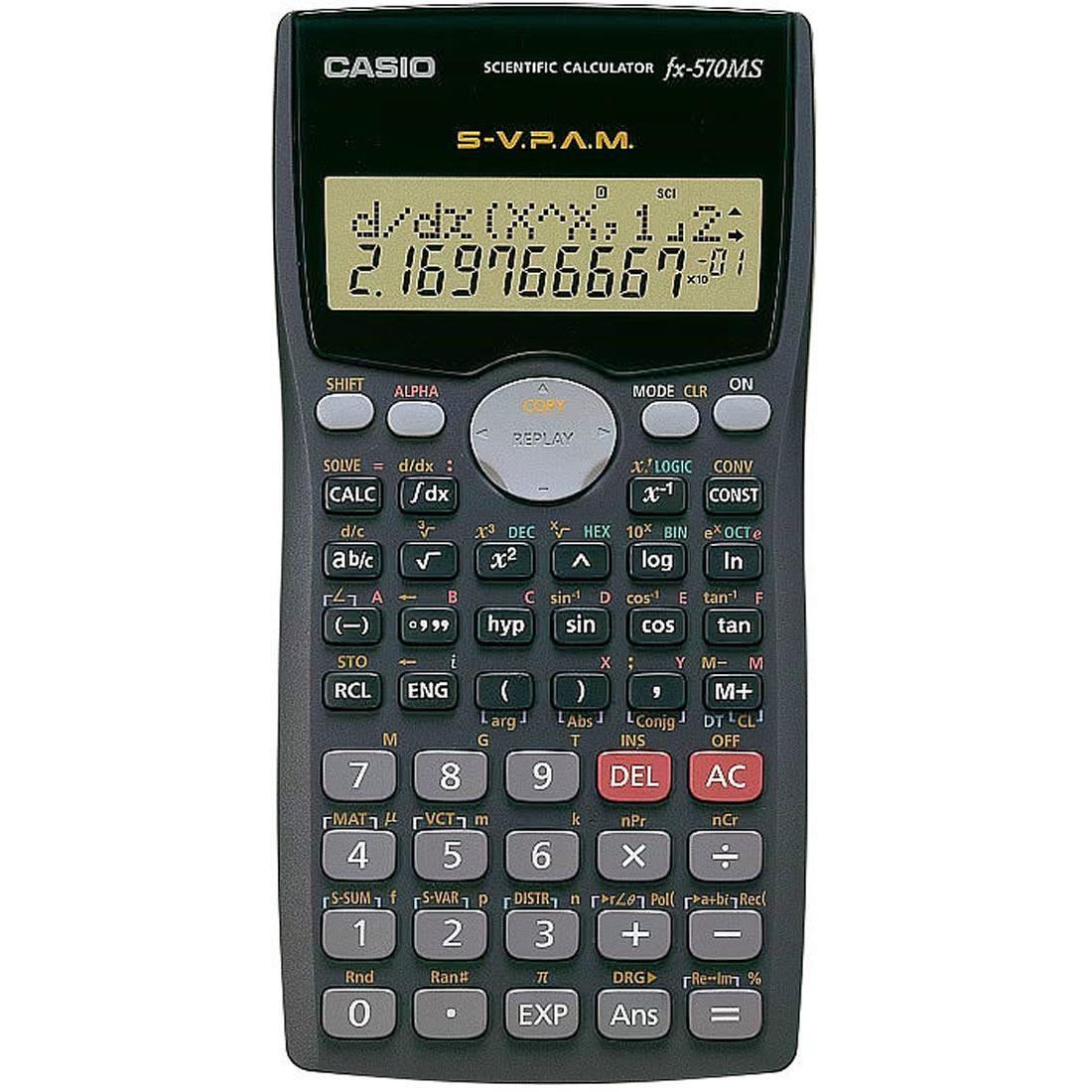 Casio scientific calculator [fx-570ms] | souq uae.