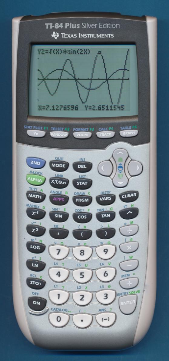 Texas Instruments TI-84 PLUS Silver Edition EZ-Spot | IT