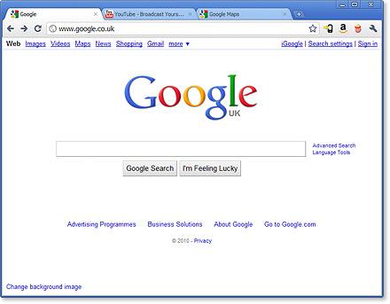 Google Chrome Canary   IT History Society